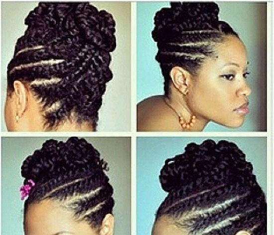 Unique Cornrow Hairstyles For Short Natural Hair : Northaltaventures Throughout Most Recently Elegant Cornrow Updo Hairstyles (View 15 of 15)