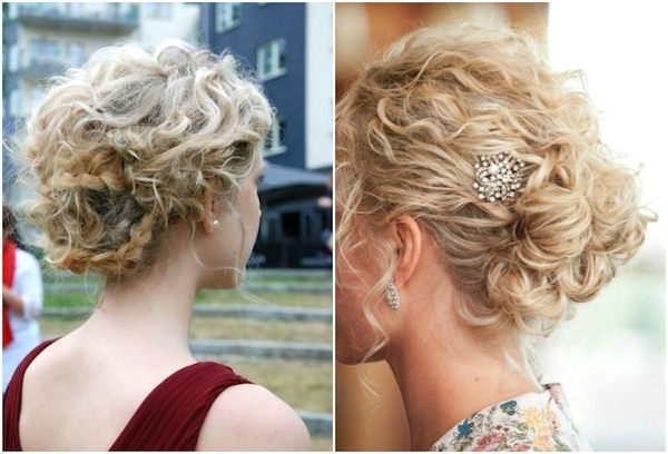 Untamed Tresses | Naturally Curly Wedding Hairstyles Pertaining To Latest Curly Long Updos For Wedding (View 9 of 15)
