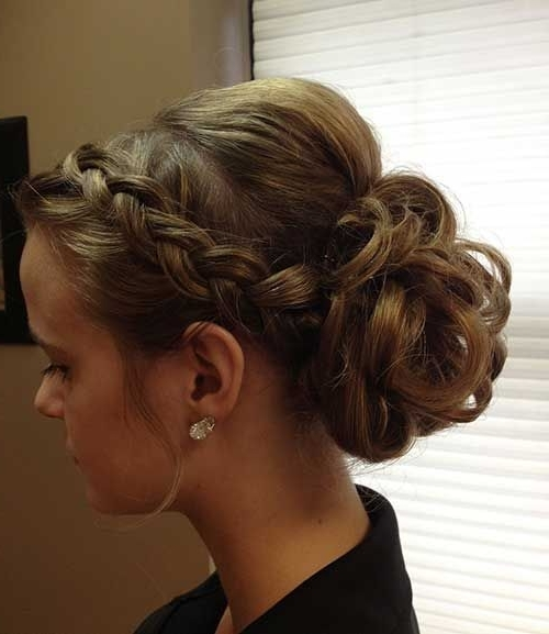 Up Do Hair Styles Best 25 Prom Updo Hairstyles Ideas On Pinterest With Best And Newest Homecoming Updo Hairstyles (View 12 of 15)
