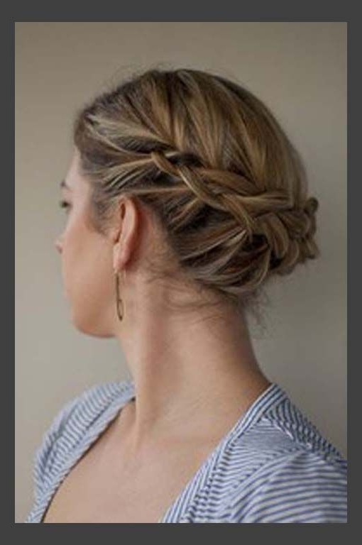 Updo For Medium Hair   Your Fairy Godmother Within Most Popular Updos For Medium Thin Hair (View 12 of 15)