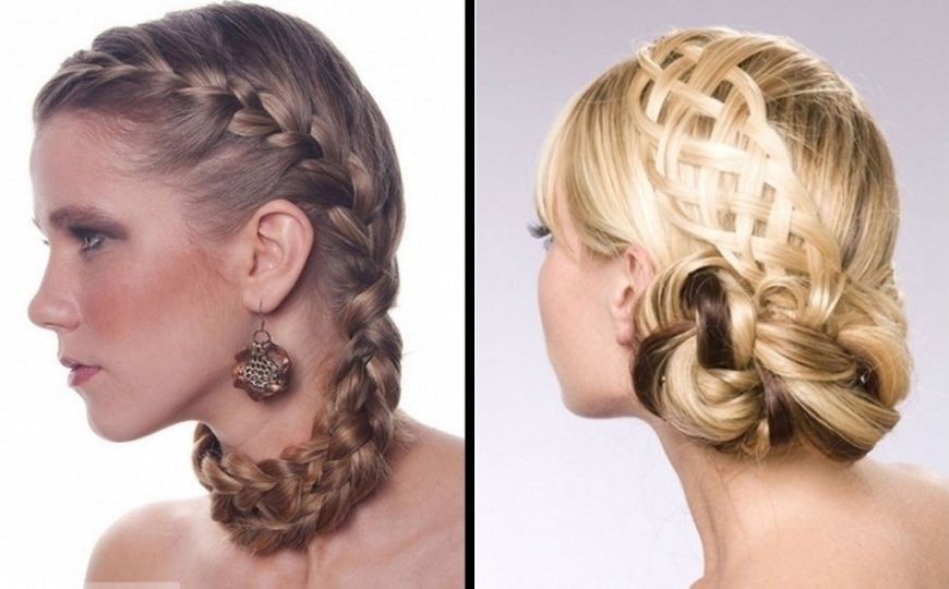 Updo Hairstyle For Homecoming Prom Updos For Medium Hair Tutorial Intended For Most Recently Homecoming Updos For Medium Length Hair (View 6 of 15)