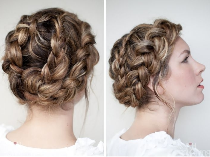 Updo Hairstyle Long Hair – Google Search | Hair | Pinterest | Updo Inside Recent Braid Updo Hairstyles For Long Hair (View 6 of 15)