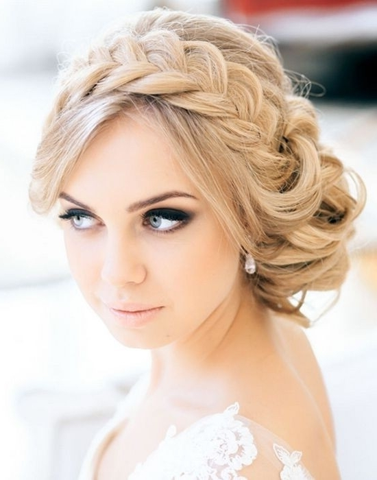 Updo Hairstyle With Loose Braid Fantastic New Dance Hairstyles Within Most Current New Updo Hairstyles (View 13 of 15)