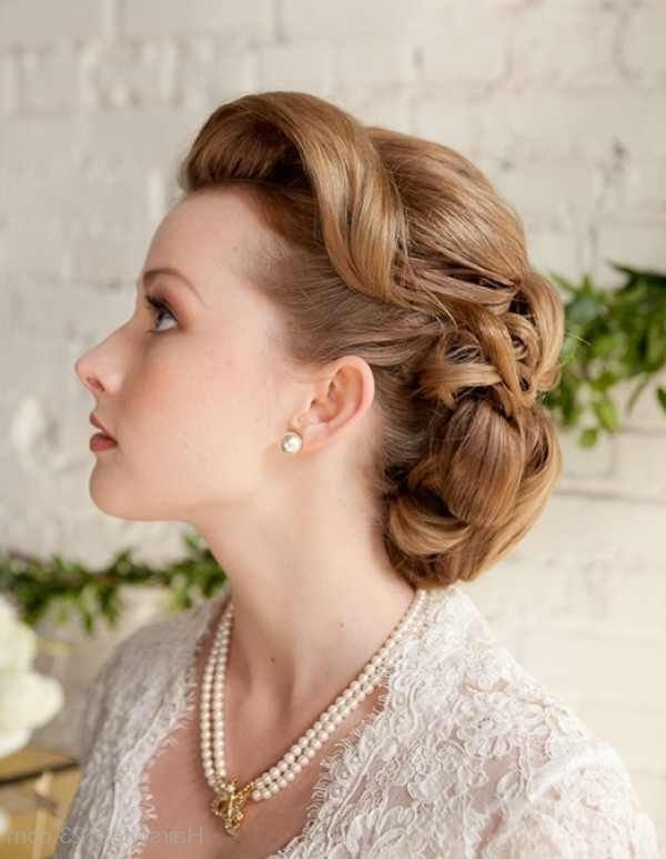 Updo Hairstyle With Regard To Latest Vintage Updo Hairstyles (View 11 of 15)