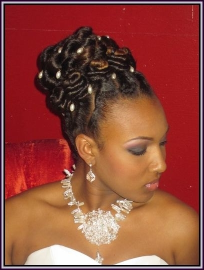 Updo Hairstyles For African American Women | Hair Fashion For Within 2018 Afro American Updo Hairstyles (View 3 of 15)