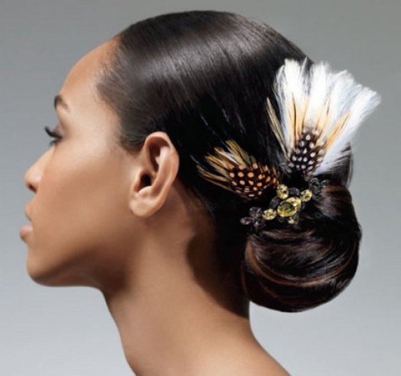 Updo Hairstyles For Black Women Who Love Style Throughout Recent Women's Updo Hairstyles (View 3 of 15)