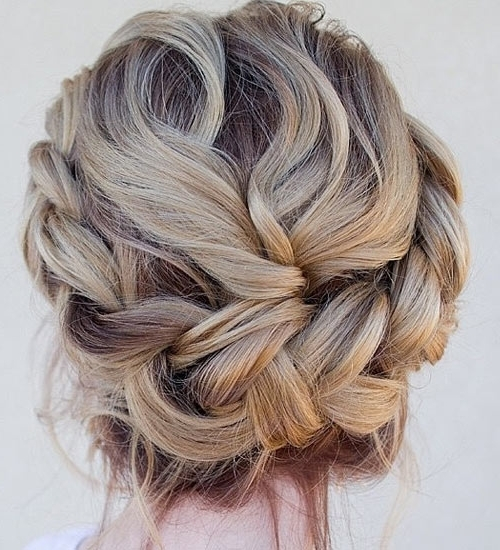 Updo Hairstyles For Medium Length Hairs – Style Samba Regarding Recent Boho Updos For Long Hair (View 15 of 15)