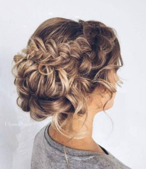 Updo Hairstyles For Shoulder Length Hair Chic Updos For Medium With Regard To Most Current Updo Hairstyles For Shoulder Length Hair (View 12 of 15)