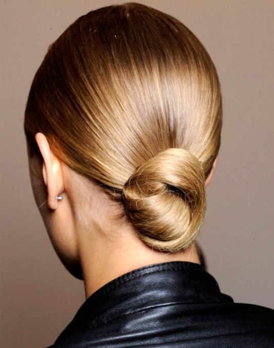 Photo Gallery Of Knot Updo Hairstyles Showing 7 Of 15 Photos