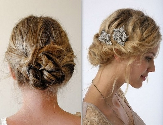 Updo Hairstyles For Thin Hair Images Prom | Medium Hair Styles Ideas For Most Recent Formal Updos For Thin Hair (View 13 of 15)