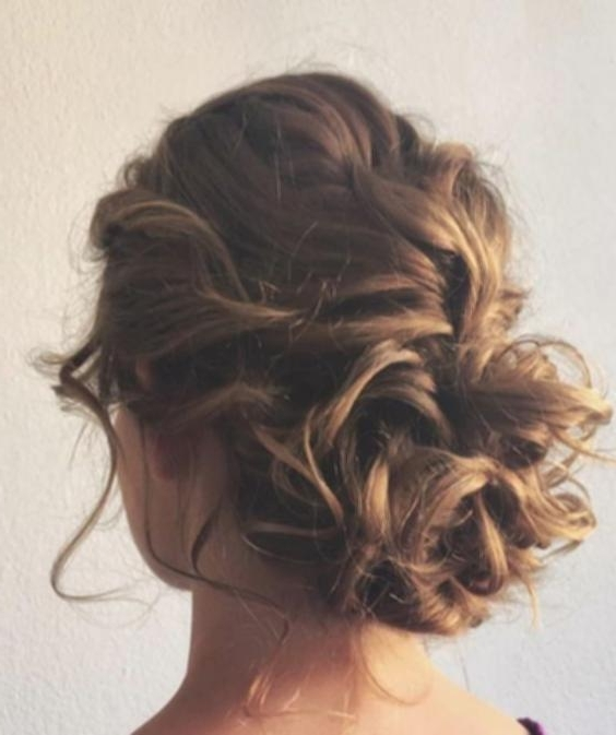 Updo Hairstyles Medium Length Hair – Cute Hairstyles Diy Pertaining To Recent Updos For Medium Length Hair (View 15 of 15)