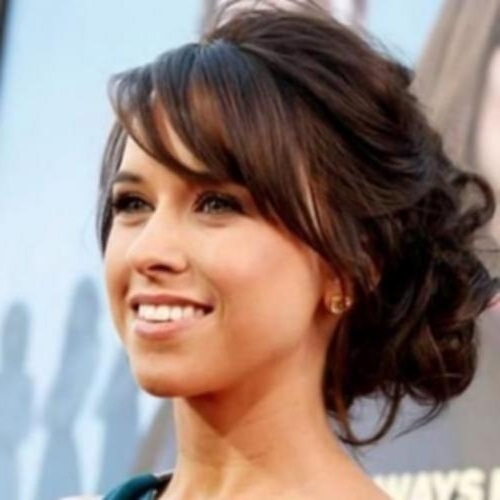 Updo Hairstyles With Bangs Fancy Updo Hairstyles With Side Bangs Inside Current Fancy Updo Hairstyles (View 15 of 15)