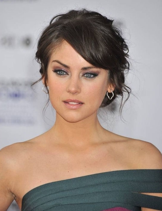 Updo Hairstyles With Bangs Hair Is Our Crown With Greasy Hair Braids With Regard To Most Recently Updos For Medium Hair With Bangs (View 12 of 15)