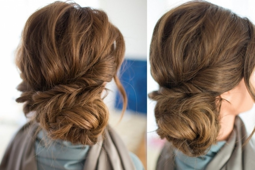 Updo Hairstyles With Clip In Extensions Braided Side Updo Hair Intended For Most Up To Date Hair Extensions Updo Hairstyles (View 3 of 15)