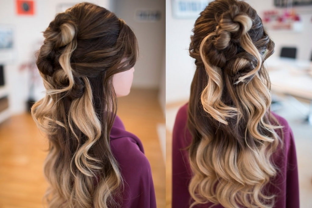 Showing Gallery Of Hair Extensions Updo Hairstyles View 7 Of 15 Photos