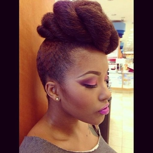 Updo Hairstyles With Weave For Most Recently Updo Hairstyles With Weave (View 7 of 15)