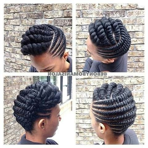 Updo Twist Hairstyles Best 25 Two Strand Twist Updo Ideas On With Latest 2 Strand Twist Updo Hairstyles (View 15 of 15)