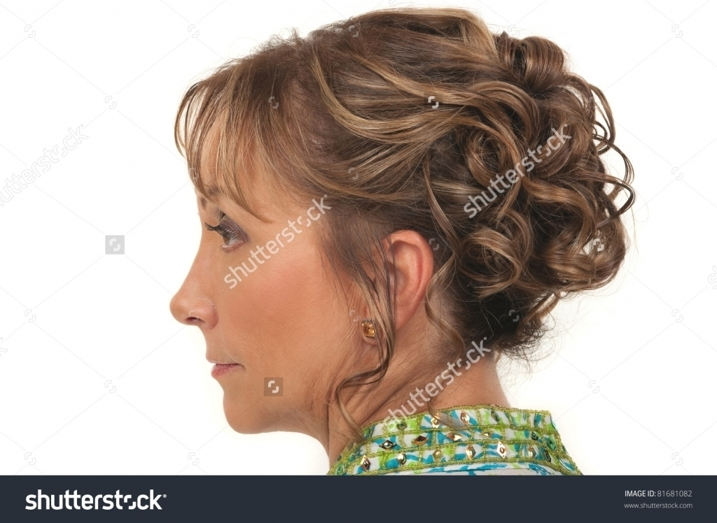Updos For Older Women Beautiful Hairstyle For A Party Or Wedding For Intended For Best And Newest Updo Hairstyles For Older Women (View 13 of 15)
