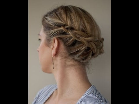 Updos For Short Fine Hair – Youtube Throughout Most Recently Updos For Fine Hair (View 2 of 15)