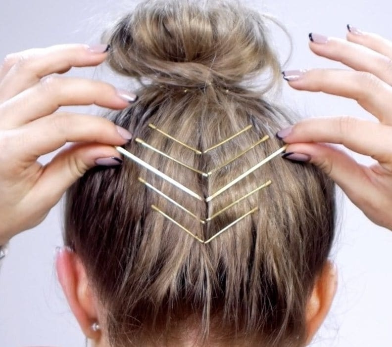 Updos For Short Hair: 10 Pretty Looks Short Haired Ladies Will Love With Most Recent Updo Short Hairstyles (View 12 of 15)
