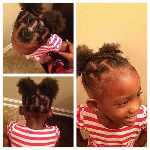 Updos For Short Hair African American Toddlers – Google Search Regarding Most Current Updo Hairstyles For Little Girl With Short Hair (View 5 of 15)