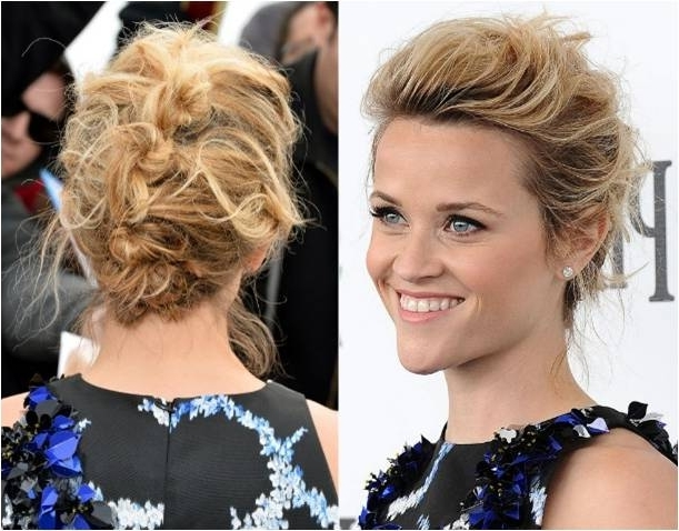 Updos For Short Hair | De Lorenzo With Most Current Soft Updos For Short Hair (View 14 of 15)