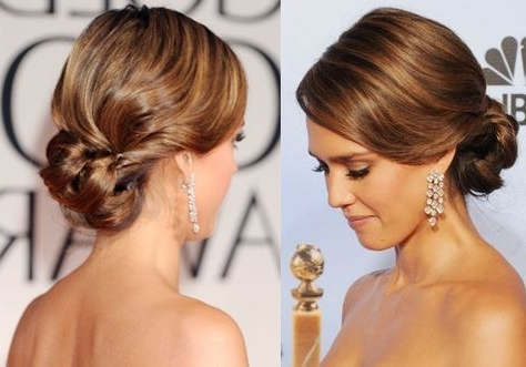 Showing Photos of Wedding Updos For Fine Thin Hair (View 4 of 15 Photos)