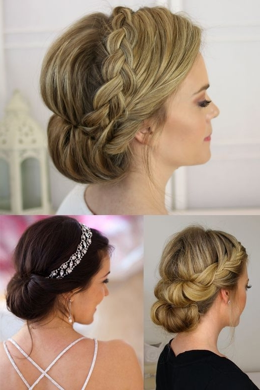 15 Inspirations of Wedding Updos For Fine Thin Hair