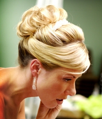 Updos For Thin Hair   Updo   Pinterest   Thin Hair, Updos And Weddings Regarding 2018 Wedding Updos For Fine Thin Hair (View 3 of 15)