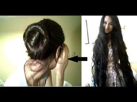 Updo's For Very Long Hair – Youtube Regarding Newest Easy Updos For Extra Long Hair (View 15 of 15)