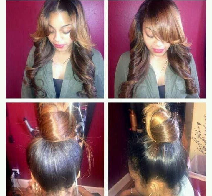 Versitile Sew In | Versatile Sew In | Yaaassshair!!! | Pinterest Pertaining To Latest Sew In Updo Hairstyles (View 15 of 15)