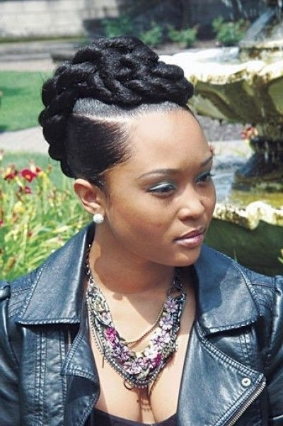 Want A Hairstyle That Is Different And Will Last For A Little While With Regard To Latest Cute Updos For African American Hair (View 5 of 15)