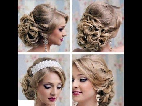 Wedding Bridesmaid Hairstyles Short Hair Updos For Long Hair Ideas Regarding Current Updo Hairstyles For Short Hair For Wedding (View 5 of 15)