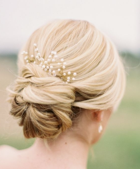 Wedding Hair Updos Best 25 Wedding Updo Ideas On Pinterest Wedding In Most Recent Updo Hairstyles For Wedding (View 5 of 15)