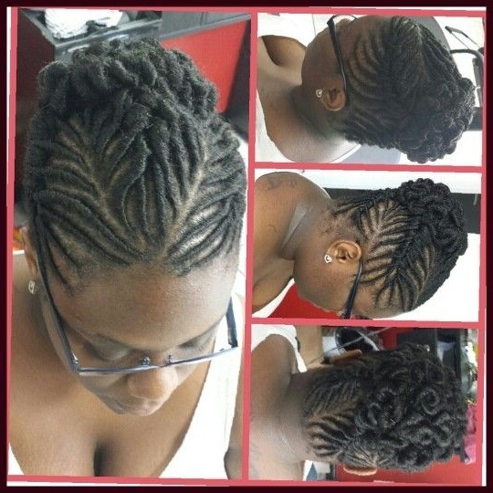 Featured Photo of Stuffed Twist Updo Hairstyles