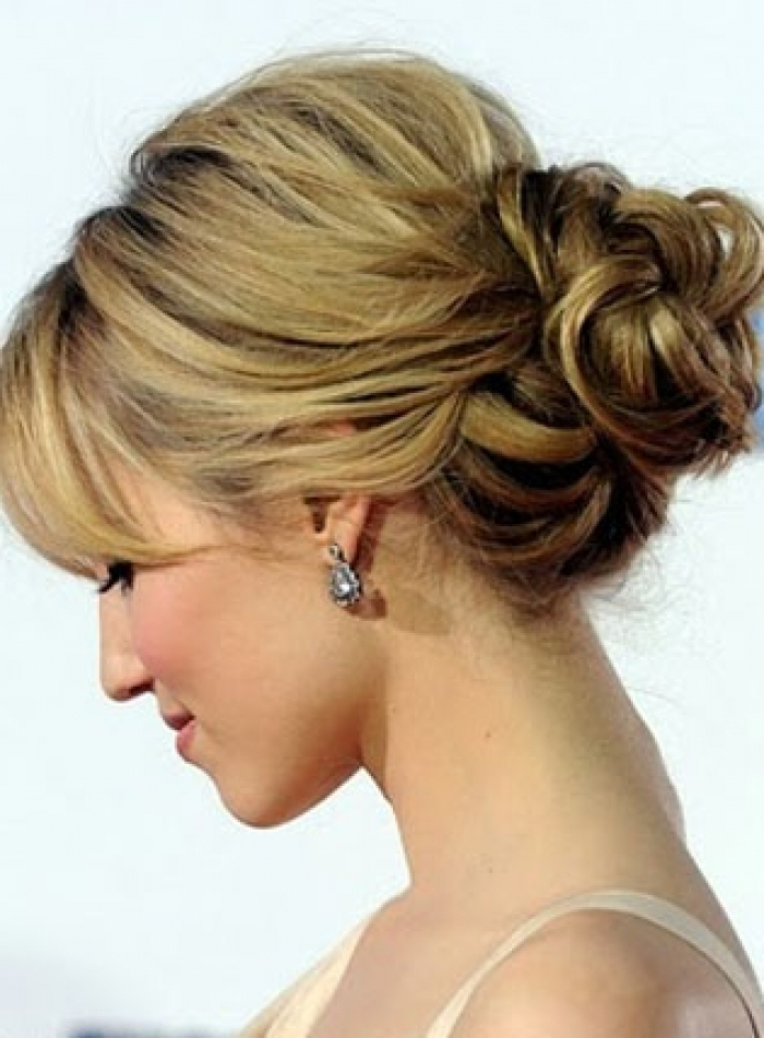 Wedding Hairstyles : Blonde Updo Hairstyles For Wedding With Long With Regard To Current Blonde Updo Hairstyles (View 2 of 15)