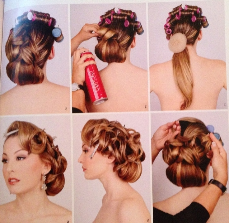 Photo Gallery Of 50s Updo Hairstyles For Long Hair Showing 2 Of 15