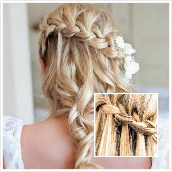 Wedding Hairstyles For Medium Length Hair Half Up – Hairstyle For Throughout Most Up To Date Homecoming Updos For Medium Length Hair (View 10 of 15)