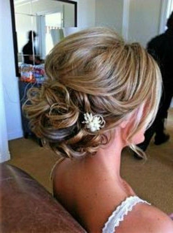 Wedding Hairstyles For Short Fine Hair | Wedding Hairstyles Within 2018 Bridesmaid Updo Hairstyles For Thin Hair (View 15 of 15)