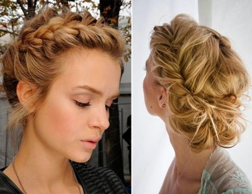 15 Best Collection of Quick Updo Hairstyles For Long Hair
