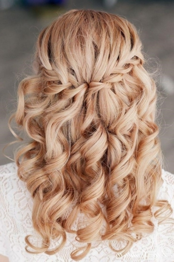 Wedding Half Updos For Medium Hair | Spy Auto Cars With Regard To Newest Partial Updos For Medium Hair (View 15 of 15)