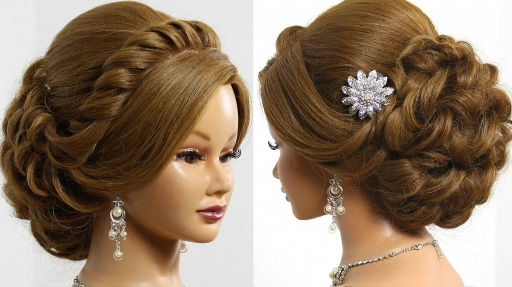 Wedding Updo Hairstyle – Popular Long Hairstyle Idea Intended For Latest Formal Updos For Thin Hair (View 15 of 15)