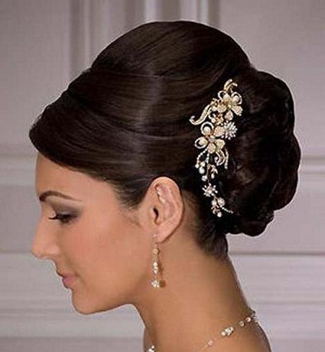 Wedding Updo Hairstyles Elegant Indian Hairstyles Juda – Fototails Regarding Newest Indian Updo Hairstyles (View 15 of 15)