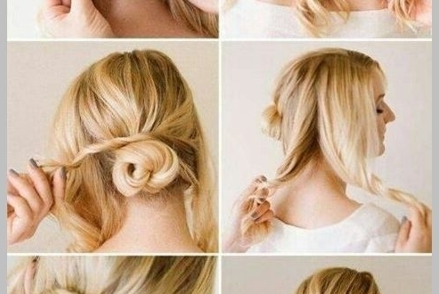 Wedding Updo Hairstyles For Short Hair ~ New Wedding Hairstyles Inside Most Recent Updo Hairstyles For Short Hair For Wedding (View 15 of 15)