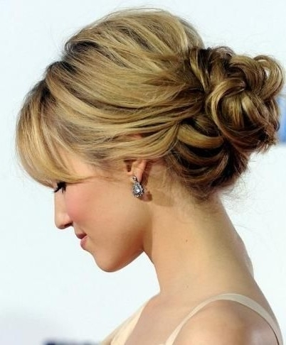 Wedding Updo Hairstyles With Bangs New Best 25 Mother Of The Groom With Regard To Recent Updo Hairstyles For Mother Of The Groom (View 4 of 15)