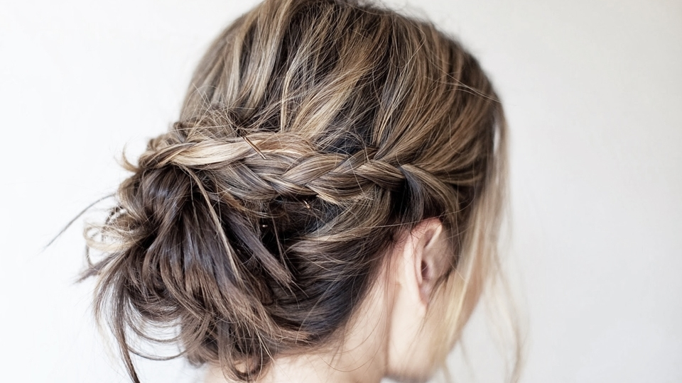 Wedding Updo Ideas For Short Hair | Stylecaster Pertaining To Current Wedding Updo Hairstyles For Short Hair (View 15 of 15)