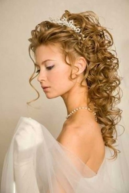 Wedding Updos Curly Long Hair   Spy Auto Cars Throughout Current Curly Long Updos For Wedding (View 15 of 15)