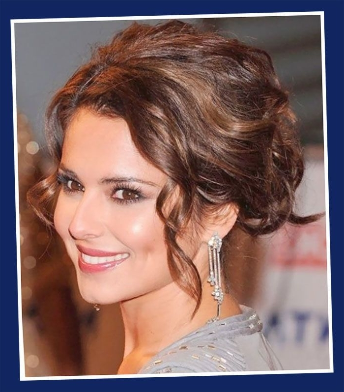 Wedding Updos For Bridesmaids – Google Search | Romantic Hairstyles Inside Most Current Loose Curly Updo Hairstyles (View 4 of 15)