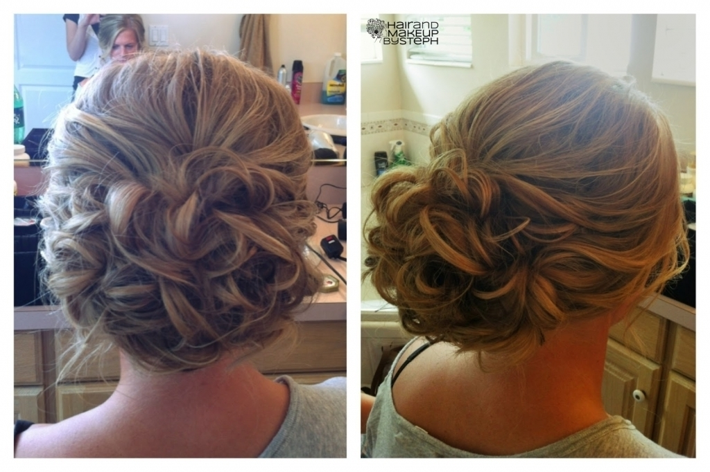 Wedding Updos For Curly Hair Soft Wedding Hair Updo Curly Hair For Most Recently Wedding Updos For Thick Hair (View 9 of 15)