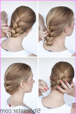 Wet Hair Styles Braided Updo – Stylesstar ® With Regard To Most Current Wet Hair Updo Hairstyles (View 8 of 15)
